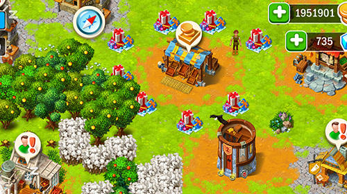 Worlds builder: Farm and craft para Android