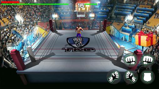 Spiele über Boxen King of boxing 3D auf Deutsch