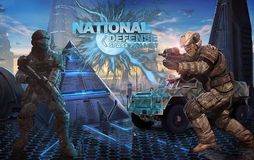 National defense: Space assaultcapturas de pantalla
