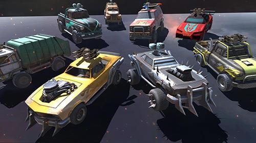 Arcade Death race: Road battle für das Smartphone