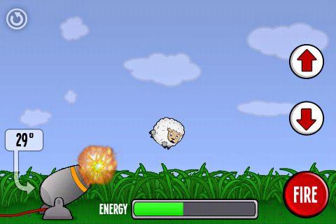 Die Schaf-Kanone: Lass es Krachen! für iPhone