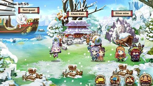 Kung fu girls screenshot 1