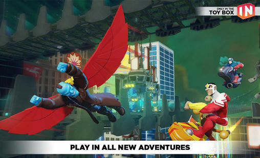 Simulateurs Disney infinity: Toy box 3.0 pour smartphone