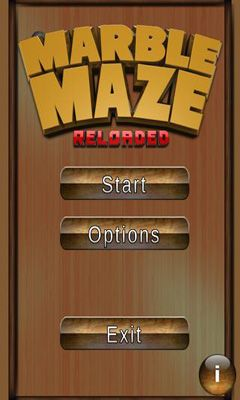 Marble Maze. Reloaded Screenshot