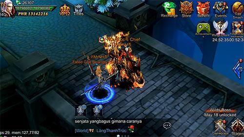 Goddess: Primal chaos. Ru free 3D action MMORPG screenshot 4