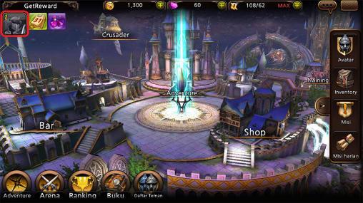 Juegos de rol Heroes of gods para teléfono inteligente