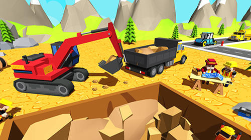Aufbau-Spiele Architect craft building: Explore construction sim auf Deutsch