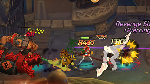 RPG Hunters league: Weapon masters' art of battle war für das Smartphone