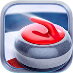 Curling 3D by Giraffe games limited Symbol