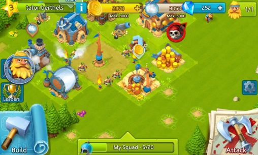 Cloud raiders: Sky conquest für Android