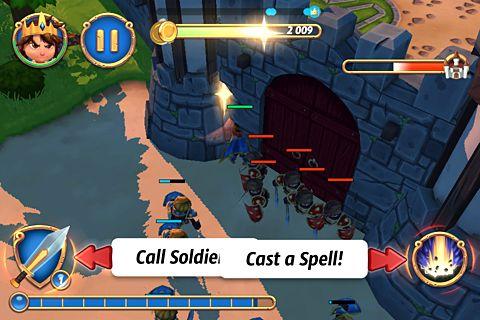 Screenshot Königlicher Aufstand 2 auf dem iPhone