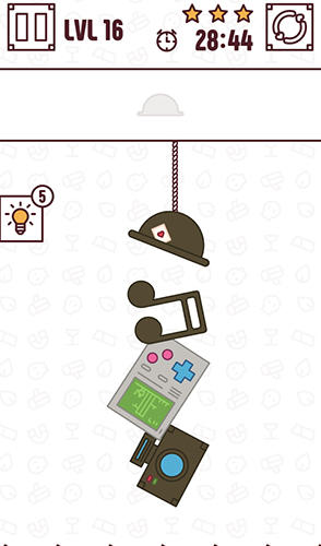 Find the balance: Physical funny objects puzzle for Android