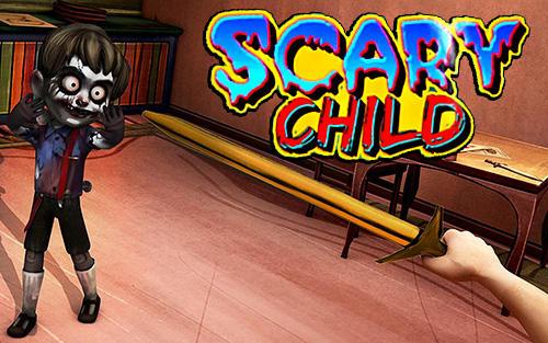Scary child icono