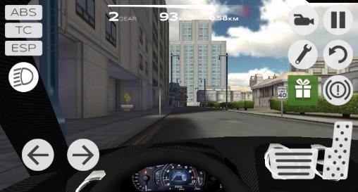 Extreme car driving simulator: San Francisco скріншот 1