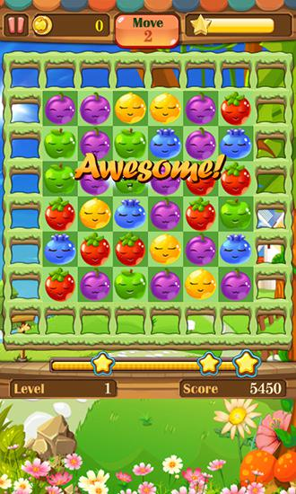 Fruit splash: Funny jelly storm para Android