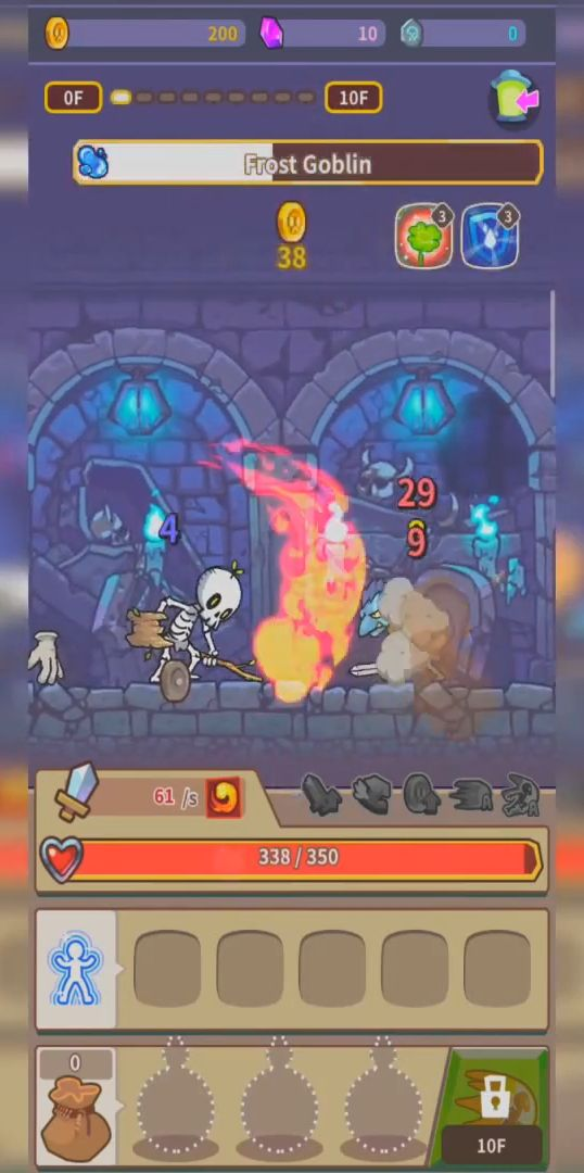 Hybrid Warrior : Dungeon of the Overlord für Android