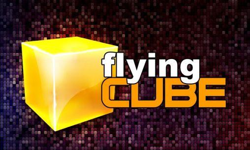 Flying cube icône
