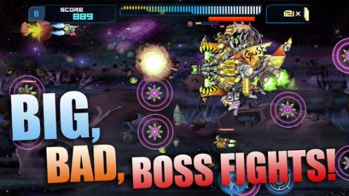 Arcade-Spiele: Lade Raketen-Läufer auf dein Handy herunter