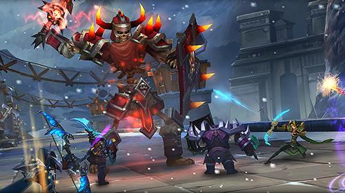 Age of warriors: Dragon discord. Frozen Elantra für Android