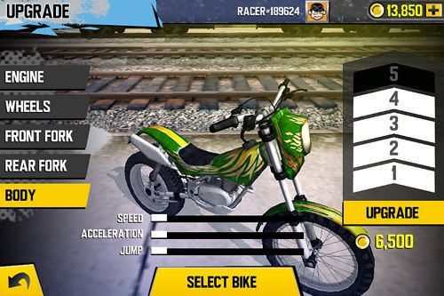 Screenshot Trial Xtreme 4 auf dem iPhone