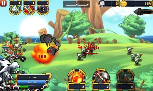 Arcade Cartoon defense 5: An unexpected adventure für das Smartphone