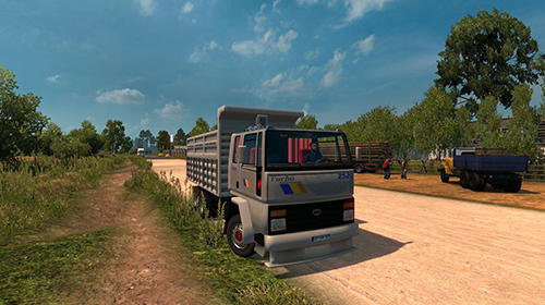 Truck driver simulation: Cargo transport для Android