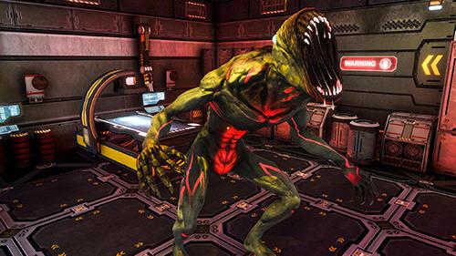 Alien attack: Spaceship escape für Android