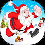 Christmas Santa run icon
