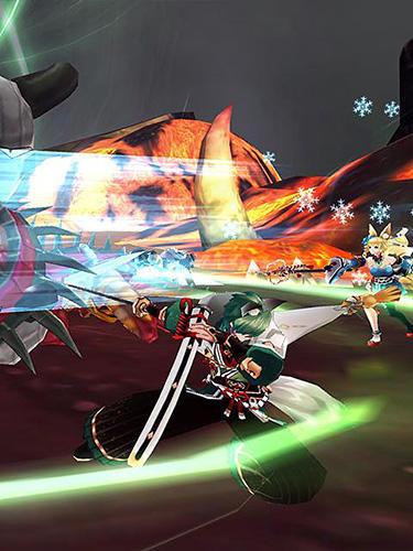 Animespiele Dawn break: The flaming emperor auf Deutsch