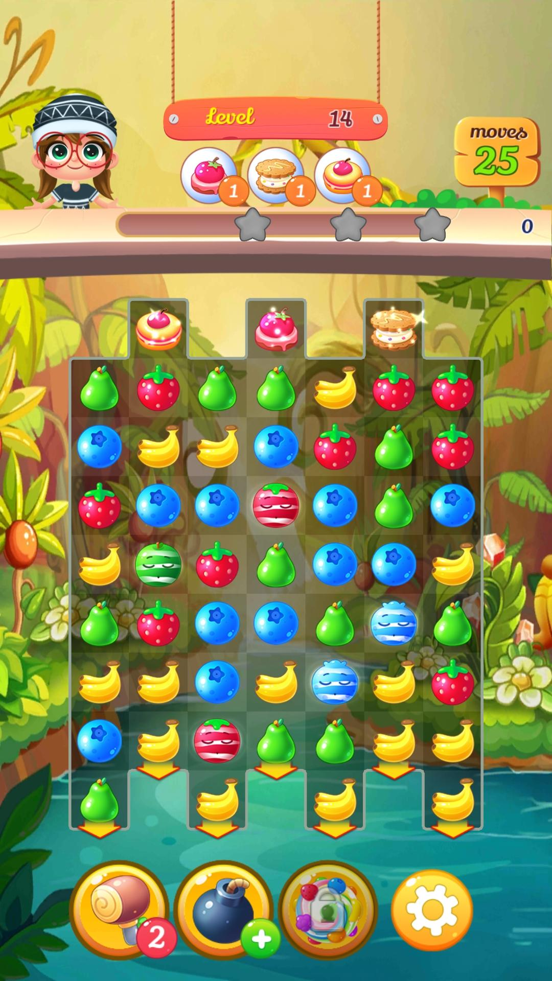 New Tasty Fruits Bomb: Puzzle World for Android