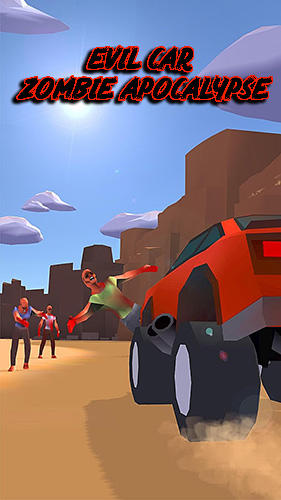Evil car: Zombie apocalypse screenshot 1