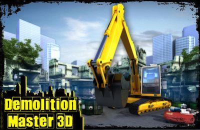 логотип Разрушитель Зданий 3D