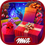 Hidden objects: Christmas gifts Symbol