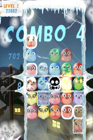 Aves congeladas para iPhone