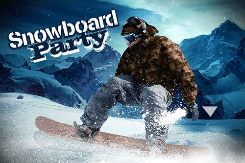 logo Snowboard Party