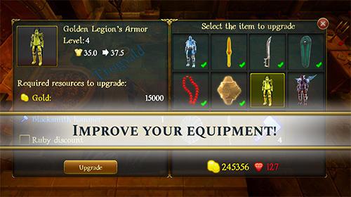 RPG-Spiele Total RPG: Towers of the ancient legion für das Smartphone