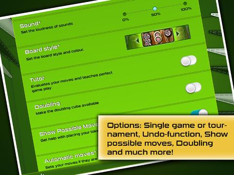 Multiplayer: Lade Backgammon Gold Premium auf dein Handy herunter