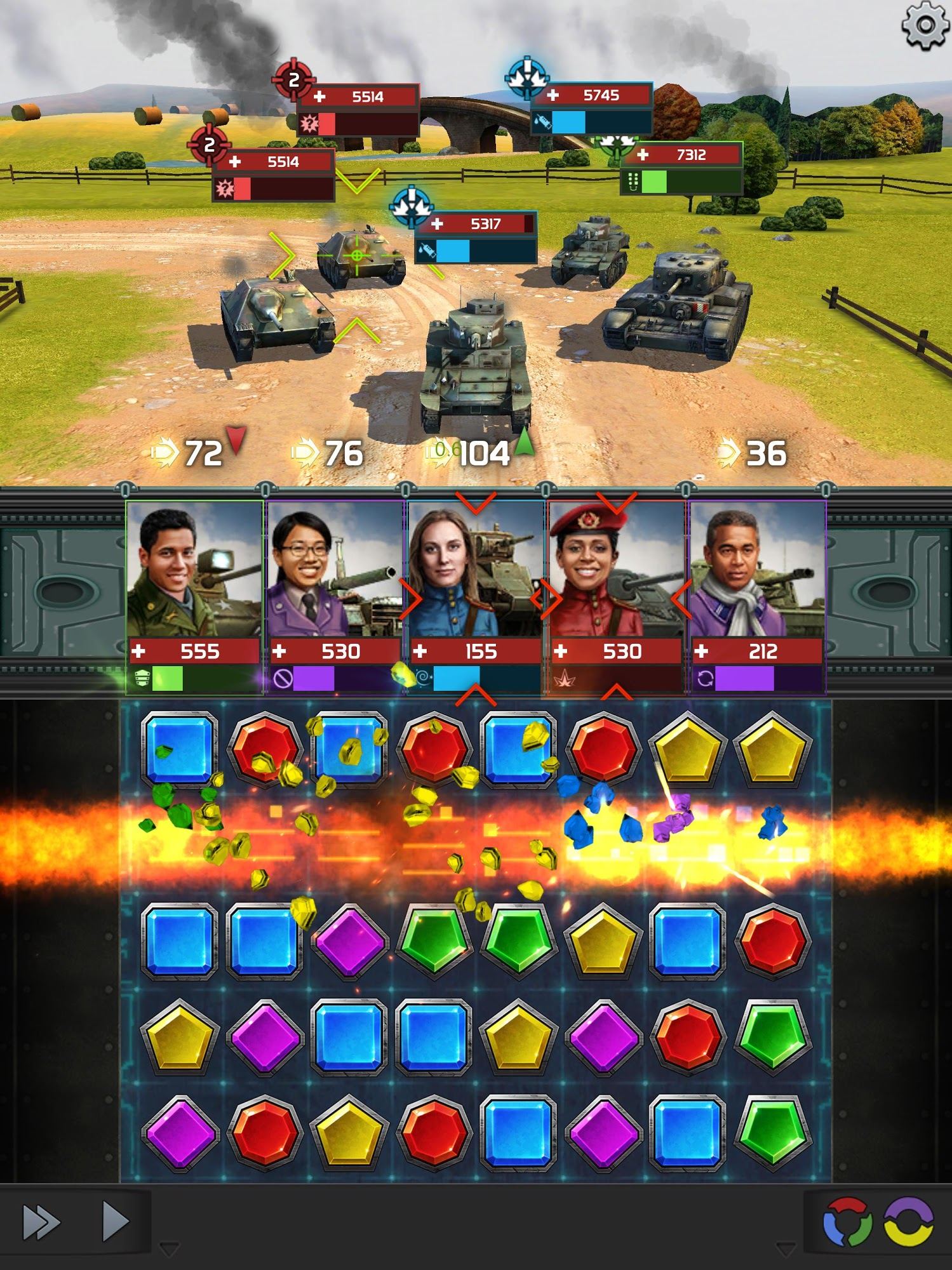 Atari Combat: Tank Fury para Android