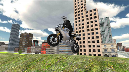 Stunt bike racing simulator Screenshot