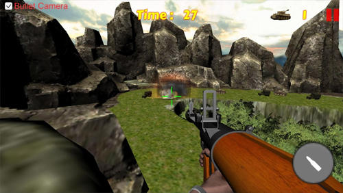Tank shooting: Sniper game für Android