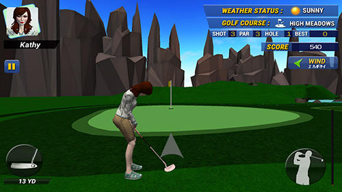 Real golf master 3D for Android