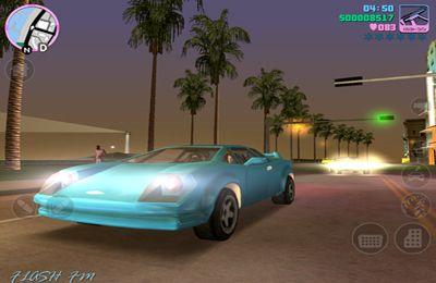 Screenshot GTA: Vice City auf dem iPhone