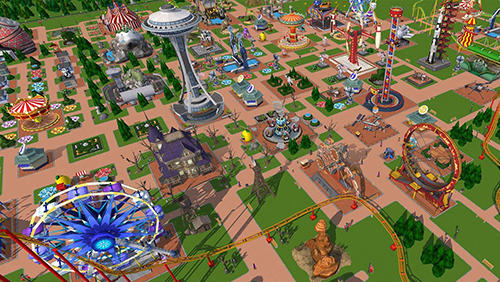 Roller coaster tycoon touch для Android