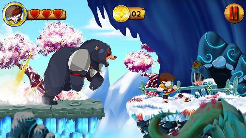 Plattformer Go king game auf Deutsch