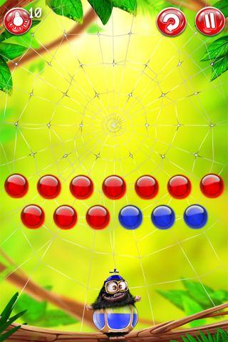 Screenshot Die Regenbogenmännchen auf dem iPhone