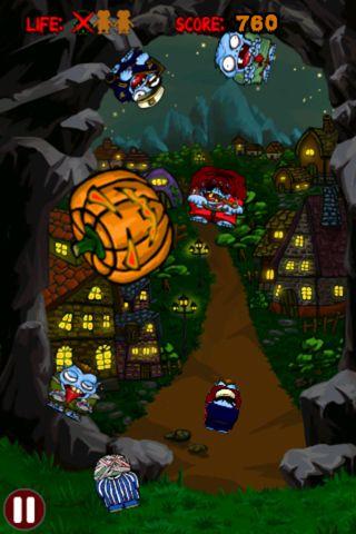 Arcade-Spiele: Lade Zombie Slasher auf dein Handy herunter