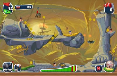 Worms Crazy Golf for iPhone for free