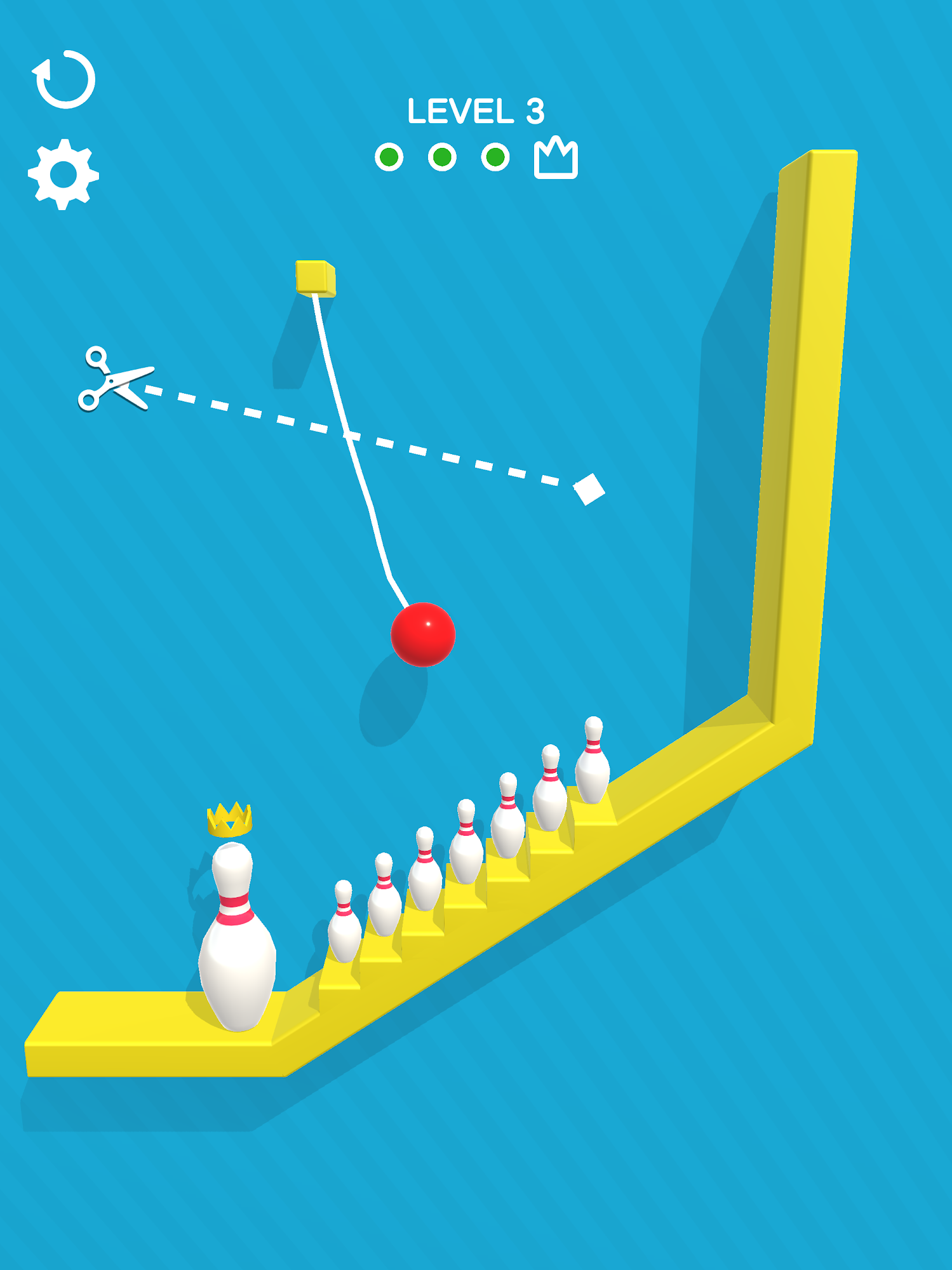 Android game Rope Bowling free