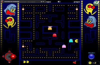 Arcade-Spiele: Lade Pac-Man auf dein Handy herunter