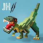 Jurassic hopper 2: Crossy dino world shooter icono